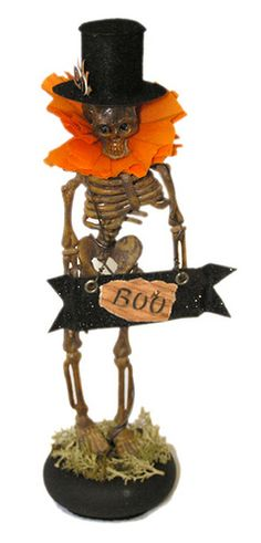 Halloween Skeleton in Top Hat