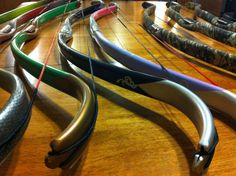 Recurve bows made from PVC pipe. #PVC #Recurve #Bow #Archery