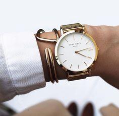 Rosefield watch Gold