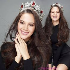 Beauty Talks with Catriona Gray, Miss World Philippines 2016 . Miss Universe Philippines, Miss Philippines, Miss World, Grey Makeup, Pageant Crowns, Filipina Beauty, Beauty Pageant, Makeup Forever, Grey Fashion