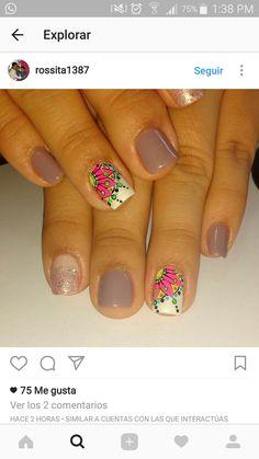 Erika, My Nails, Hair Beauty, Nail Art, Sexy, Pretty, Work Nails, Amor, Toe Nail Art