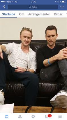 Matt and Tom screenshot from Mugglenet