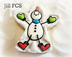 Christmas 2012 ... Snowman/Snow Angel by Jill FCS, via Flickr