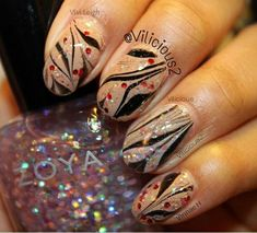 Photo by Crazy Nail Art, Crazy Nails, Dope Nails, Fancy Nails, My Nails, Nail Tips, Nail Hacks, Hacks Diy, Nail Ideas