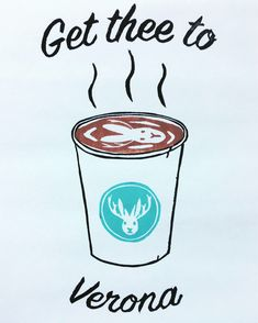A personal favorite from my Etsy shop https://www.etsy.com/ca/listing/566277354/get-thee-to-verona-coffee-art-print