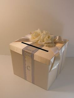 Wedding Card Box Gift Card Box Money Box by bwithustudio on Etsy, $80.00