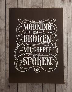 Morning has broken by Simon Ålander, via Behance