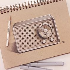 "3,301 Me gusta, 87 comentarios - Senior Product Designer (@reid.schlegel) en Instagram: ""Classic Braun Radio #Braun #dieterrams #german #ID #industrialdesign #productdesign #idsketching…"""