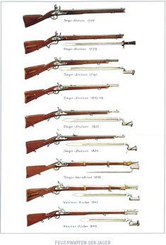 Evoluzione del moschetto dei cacciatori francesi