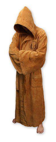 Amazon.com: Star Wars - Merchandise - Jedi Bathrobe (Hooded) (Uniform Size: L/XL): Toys & Games