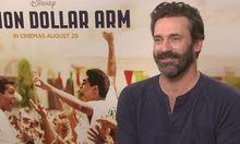 Jon Hamm chats Million Dollar Arm. Links to video.