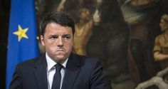 April 2015 Italian Prime Minister Matteo Renzi at a press conference in Rome after a ship packed with migrants capsized off the Libyan coast, 200km south of the Italian island of Lampedusa. Photograph: Angelo Carconi/EPA    EU pledges swift action on migration crisis Amnesty International calls on European governments to 'face their responsibilities' after 700 migrants feared drowned in Mediterranean