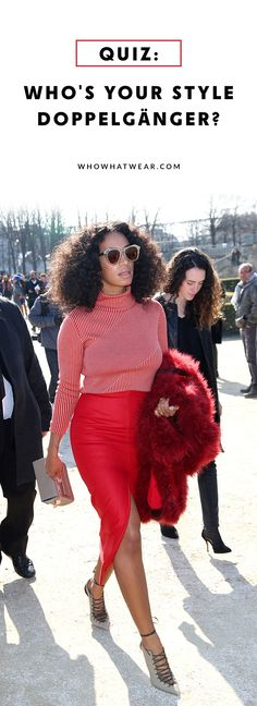 Find out which celebrity's style mirrors yours most