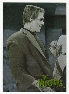 The Munsters - Deluxe # 51 Munster Trivia - Dart 1996