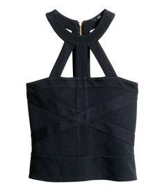 H&M Top z mocowaniem na szyi 79,90 PLN