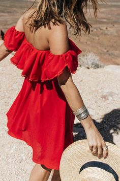 robe d'été rouge, robe moderne, tendance de l'été 2015, robe rouge courte