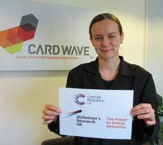 Cardwave Cancer Research UK and Alzheimer's Research UK to benefit from Cardwave's April charity donation
