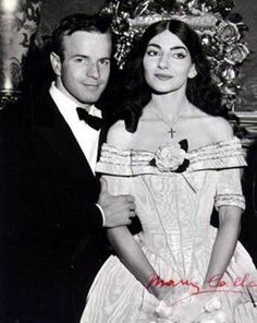 Maria Callas and Franco Zeffirelli in Dallas 1958