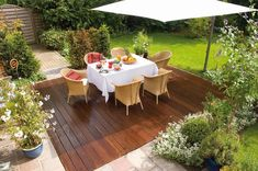 The sun is on its way (hopefully)! So it's time to refresh the decking ☀️ Make sure to use our Decking-Oil