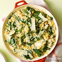 Summer Corn Risotto - Rachael Ray magazine