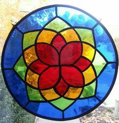 Mandalas en vidrio: Ideas novedosas pintadas a mano - Mandalas