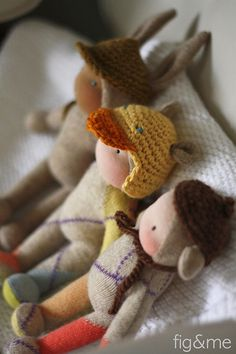 Three amigos by Fig & Me, via Flickr