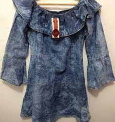 Vestido Jeans | enjoei :p