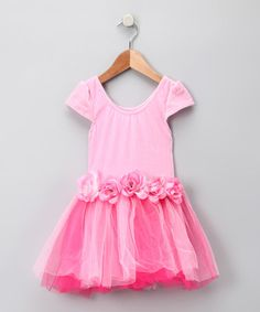 Take a look at this My Princess Academy Pink Rosette Princess Dress - Toddler & Girls by My Princess Academy on #zulily today! #fall