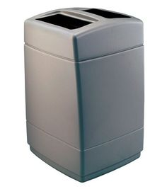 PolyTec 55-Gal Square Waste Container