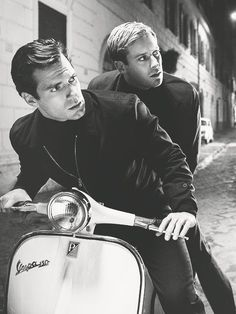 Henry Cavill and Armie Hammer - Man from UNCLE: