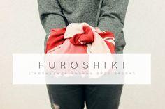 Furoshiki, emballage cadeau réutilisable, zéro déchet