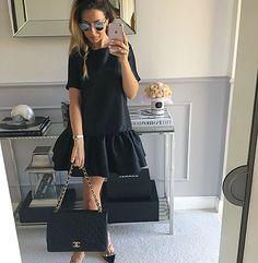 #sukienka z podwójna falbanka Mint Label #mint_label_ #mint #label #streetstyle #style #fashion #instafollow #todaysoutfit #outfit #