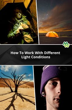 A photography guide about working with different light conditions, and best of all it's free!