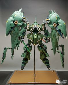 Masterpiece [G-System] 1/72 NZ-666 Kshatriya full LEDs: Amazing Full Photoreview Wallpaper Size images. Modeled by team AXIS GB