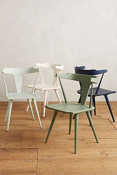 Colours for dining room chairs?