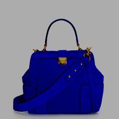 J Crew bag in blue