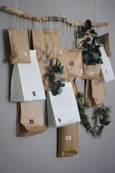 Nordic Christmas, Christmas Art, Xmas, Diy Advent Calendar, Kids Calendar, Christmas Decorations Diy For Kids, Printable Calendar Template, Couch, Gifts