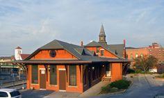 Woonsocket, RI Depot (46Kb)