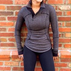 Lululemon Base Runner Long Sleeve Black mini pique Brand new without tags size 4. No trades please price firm. On Merc for less lululemon athletica Tops Sweatshirts & Hoodies