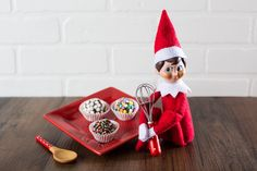 The Elf on the Shelf is sharing a delicious recipe for brigadeiros, aka Tasty…