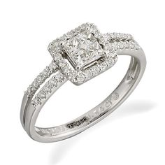 My engagement ring from Beaverbrooks