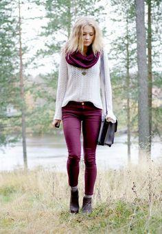 cachecol-gola - Gola cachecol linda <3 #inverno #ficarquentinho Street Style   Looks de inverno