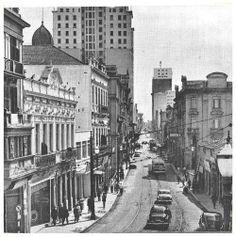 1952 - Rua Florêncio de Abreu, sentido bairro da Luz.