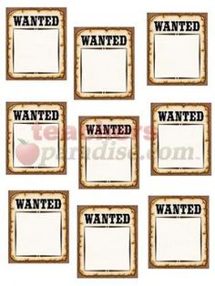 Purchase the Teacher Created Resources Western Wanted Posters, 6 Packs at Michaels. Use this decorative artwork to dress up classroom walls and doors, label bins and desks, or accent bulletin boards. Cowboy Theme, Western Theme, Western Decor, Cowboy Party, Bulletin Board Paper, School Bulletin Boards, Classroom Walls, Classroom Themes, Disney Classroom