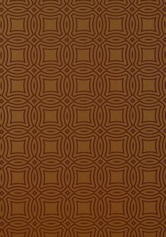Vancouver #wallpaper in #metallic #bronze from the Avalon collection. #Thibaut