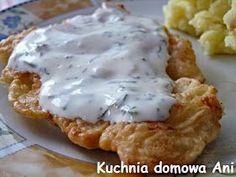 Kuchnia domowa Ani: Piersi z kurczaka w cieście czosnkowym