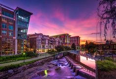 Greenville Sunset by Mel Myers on 500px