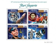 MLD16405a 55th anniversary of the first human to journey into outer space Yuri Gagarin (Vostok 1; Yuri Gagarin (1934-1968))