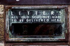 MAILBOX ♥old school mail