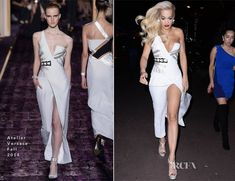 Rita Ora In Atelier Versace - Out In Cannes